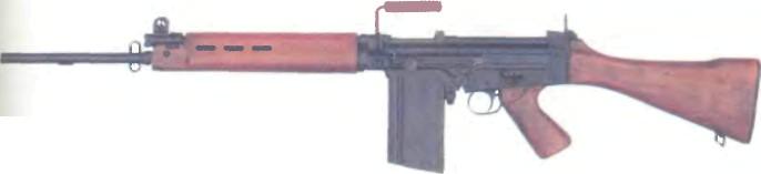 Бельгия: автомат FN FAL (МОДЕЛЬ 50) КАЛИБРА 7,62 мм - фото, описание, характеристики, история