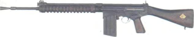 Бельгия: автомат FN FAL (МОДЕЛЬ 50) КАЛИБРА .280 - фото, описание, характеристики, история