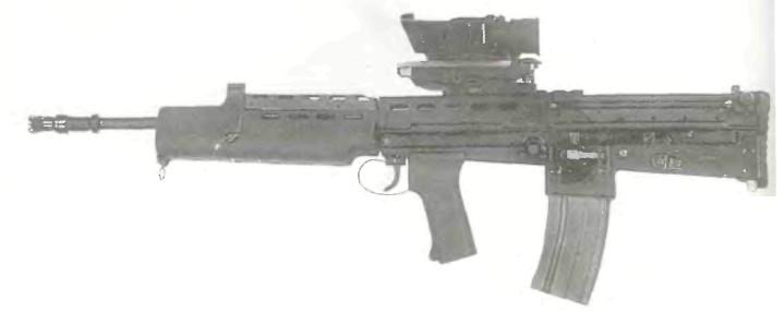 Великобритания: автомат L85A1 КАЛИБРА 5.56 мм - фото, описание, характеристики, история