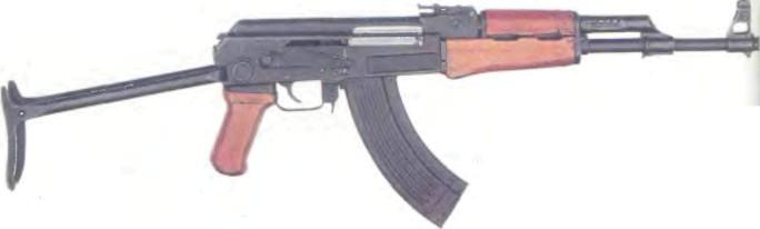 СССР: автомат КАЛАШНИКОВА АКС-47 - фото, описание, характеристики, история