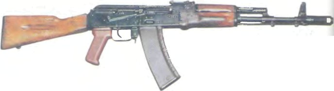 СССР: автомат КАЛАШНИКОВА АК-74 - фото, описание, характеристики, история