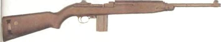 США: карабин М1 - фото, описание, характеристики, история
