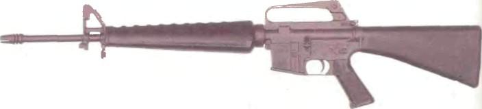 США: автомат АРМАЛАЙТ AR-15 (M16) - фото, описание, характеристики, история