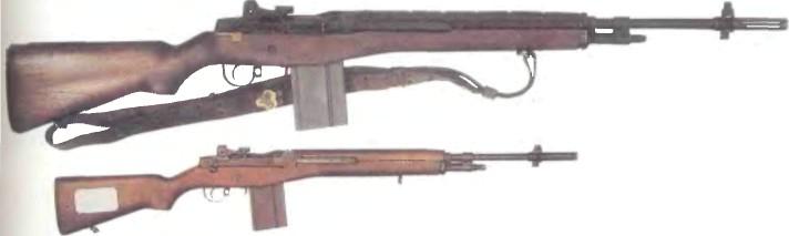 США: автомат M14 - фото, описание, характеристики, история