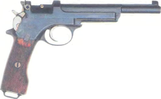 Австро-Венгрия: пистолет МАНЛИХЕР, модель 1901 - фото, описание, характеристики, история