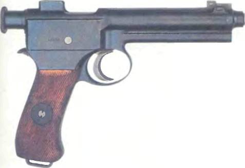 Австро-Венгрия: пистолет РОТ-ШТЕИЕР, модель 1907 - фото, описание, характеристики, история