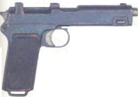 Австро-Венгрия: пистолет ШТЕЙЕР, модель 912 - фото, описание, характеристики, история