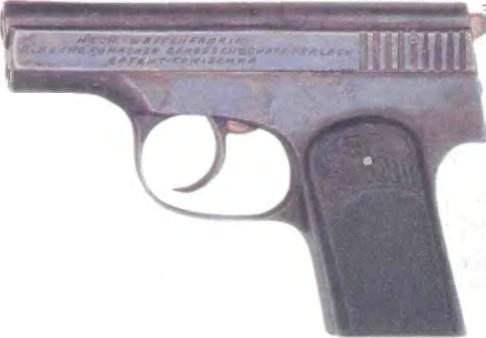 Австро-Венгрия: пистолет ТОМИСНА ЛИТТЛ ТОМ - фото, описание, характеристики, история