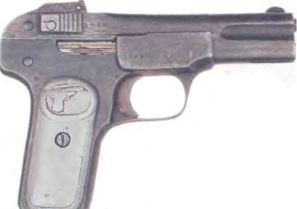 Бельгия: пистолет БРАУНИНГ, МОДЕЛЬ 1900 - фото, описание, характеристики, история