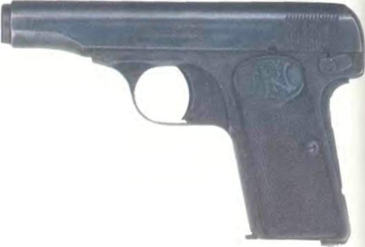 Бельгия: пистолет БРАУНИНГ КАЛИБРА 7,65 мм, модель 1910 - фото, описание, характеристики, история