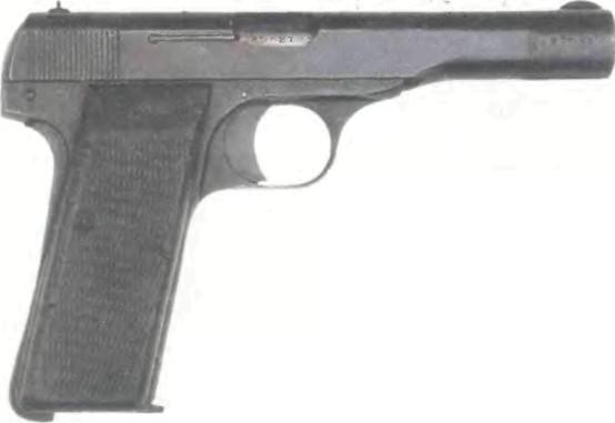 Бельгия: пистолет БРАУНИНГ КАЛИБРА 7,65мм, модель 1910/22 - фото, описание, характеристики, история