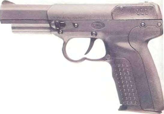 Бельгия: пистолет ФАБРИК НАСЬОНАЛЬ ФАЙВ-СЕВЕН калибра 5,7 мм - фото, описание, история