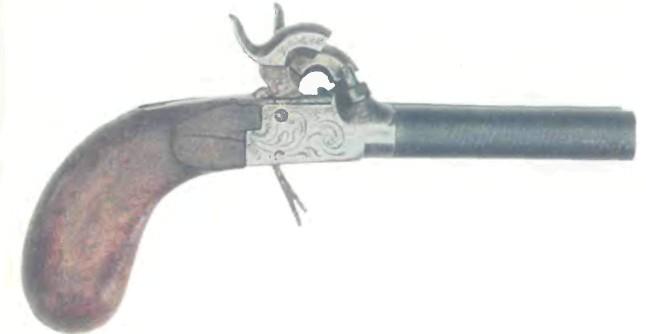 Бельгия: пистолет ДВУСТВОЛЬНЫЙ КАРМАННЫЙ - фото, описание, характеристики, история