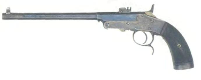 Бельгия: пистолет САЛОННЫЙ - фото, описание, характеристики, история