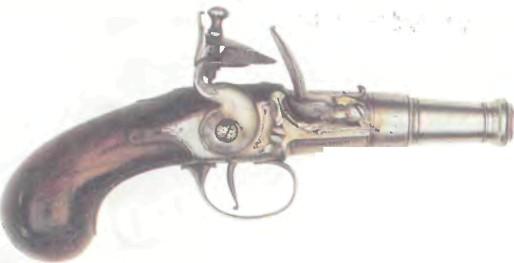Британия: пистолет КАРМАННЫЙ БАРБАРА - фото, описание, характеристики, история
