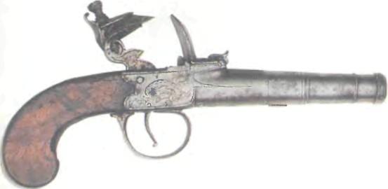 Великобритания: пистолет БИРМИНГЕМ С КОРОБЧАТЫМ ЗАМКОМ - фото, описание, характеристики, история