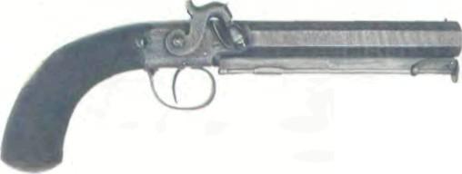 Великобритания: пистолет КАПСЮЛЬНЫЙ БЛЭНЧА - фото, описание, характеристики, история