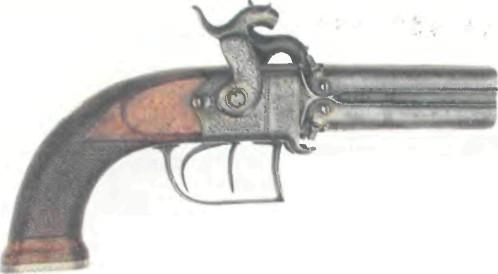Великобритания: пистолет ЧЕТЫРЕХСТВОЛЬНЫЙ БЛЭНЧА - фото, описание, характеристики, история