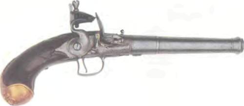 Великобритания: пистолет КРЕМНЕВЫЙ БАМФОРДА - фото, описание, характеристики, история