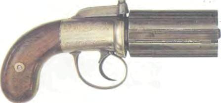 Великобритания: пистолет БУНДЕЛЬРЕВОЛЬВЕР КОГСВЕЛЛА - фото, описание, характеристики, история