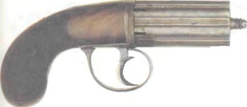 Великобритания: пистолет БУНДЕЛЬРЕВОЛЬВЕР КУЛЕРА - фото, описание, характеристики, история