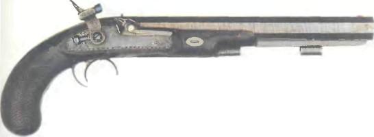 Великобритания: пистолет ДУЭЛЬНЫЙ КАПСЮЛЬНЫЙ МЭНТОНА - фото, описание, характеристики, история
