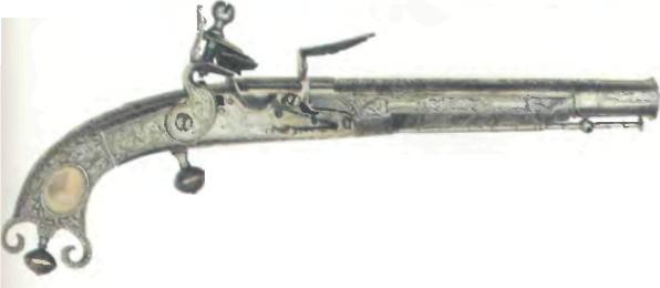 Великобритания: пистолет ШОТЛАНДСКИЙ СТАЛЬНОЙ МЭРДОКА - фото, описание, характеристики, история