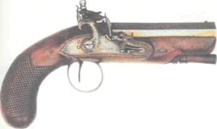 Великобритания: пистолет КАРМАННЫЙ РИГБИ ОВЕРКОУТ - фото, описание, характеристики, история
