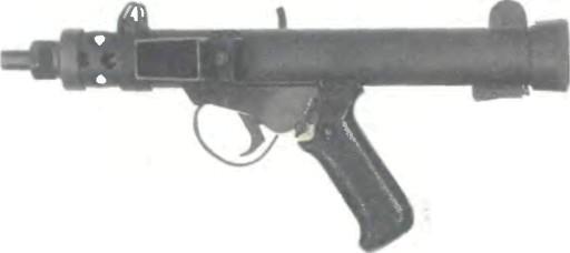 Великобритания: пистолет СТЕРЛИНГ МК VII - фото, описание, характеристики, история