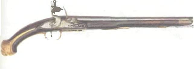 Великобритания: пистолет КАВАЛЕРИЙСКИЙ ТАУЭР 1720 - фото, описание, характеристики, история