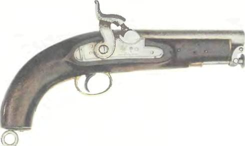 Великобритания: пистолет АРМЕЙСКИЙ И МОРСКОЙ КАПСЮЛЬНЫЙ ТАУЭР - фото, описание, история