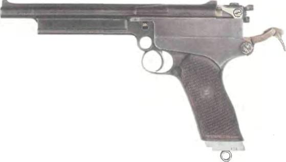 Великобритания: пистолет ВЕБЛЕЙ-МАРС калибра .380 - фото, описание, характеристики, история