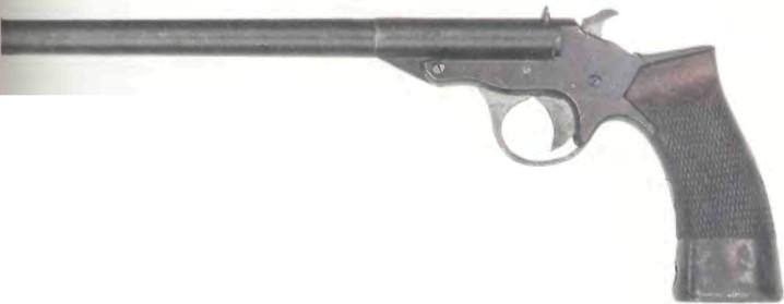Великобритания: пистолет ЦЕЛЕВОЙ ВЕБЛЕЙ-СКОТТ - фото, описание, характеристики, история