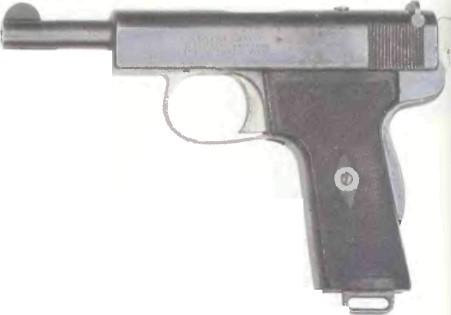 Великобритания: пистолет ВЕБЛЕЙ, МОДЕЛЬ 1909 калибра ,380 - фото, описание, характеристики, история
