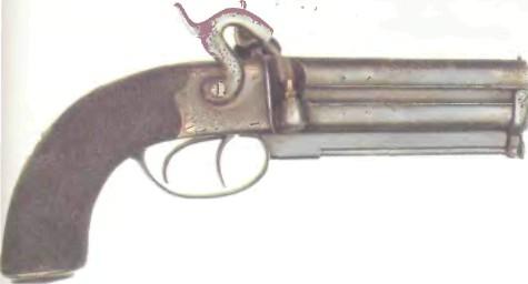 Великобритания: пистолет РЕВОЛЬВЕРНЫЙ - фото, описание, характеристики, история