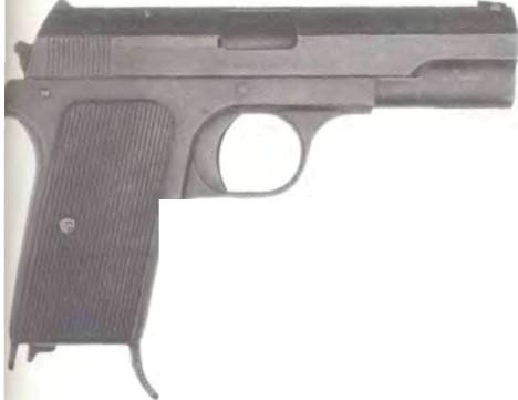 Венгрия: пистолет ФЕГУВЕРГУАР, МОДЕЛЬ 1937М/ПИСТОЛЕТ 37(U) - фото, описание, характеристики, история