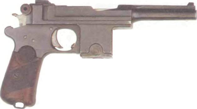 Германия: пистолет САМОЗАРЯДНЫЙ БЕРГМАН-БАЙАРД - фото, описание, характеристики, история