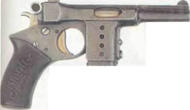 Германия: пистолет БЕРГМАН СИМПЛЕКС - фото, описание, характеристики, история