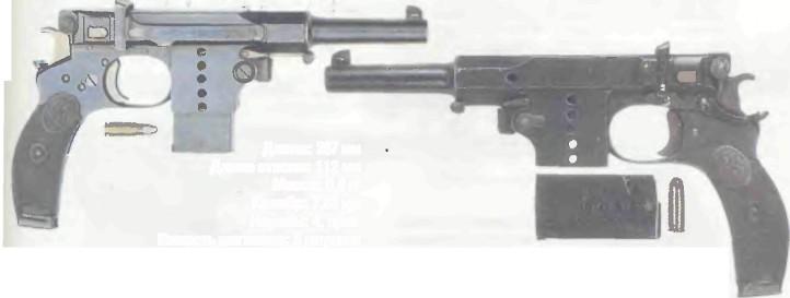 Германия: пистолет БЕРГМАН 1897 (№ 5) - фото, описание, характеристики, история