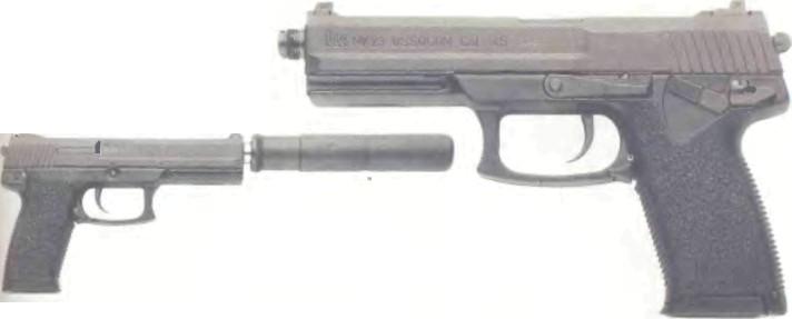 Германия: пистолет ХЕКЛЕ.Р И КОХ, МК 23 (SOCOM) - фото, описание, характеристики, история