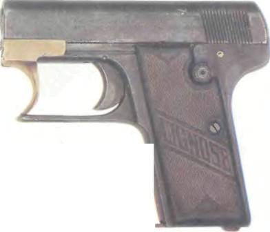 Германия: пистолет ЛИГНОЗЕ АЙНХАНД, МОДЕЛЬ 3A - фото, описание, характеристики, история