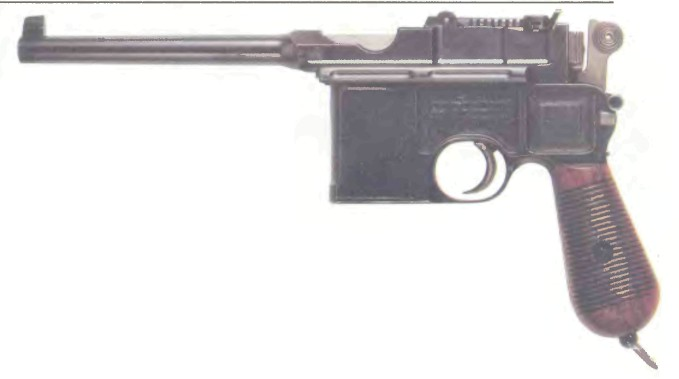 Германия: пистолет САМОЗАРЯДНЫЙ МАУЗЕР, МОДЕЛЬ 1896 - фото, описание, характеристики, история