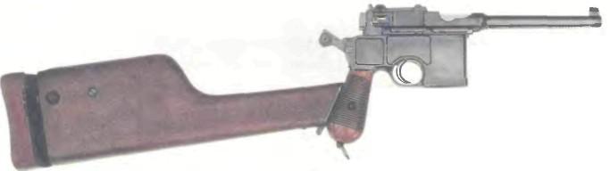 Германия: пистолет МАУЗЕР, МОДЕЛЬ 1898 - фото, описание, характеристики, история