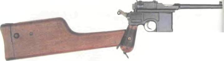 Германия: пистолет МАУЗЕР, МОДЕЛЬ 1912 - фото, описание, характеристики, история