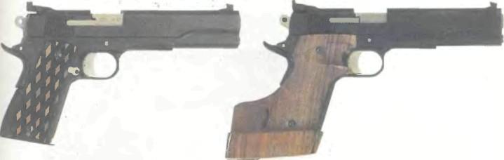 Германия: пистолет СПОРТИВНЫЙ РАЗНОКАЛИБЕРНЫЙ ПЕТЕРС-ШТАЛЬ 07 - фото, описание, история