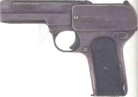 Германия: пистолет РЕЙНМЕТАЛЛ ДРЕЙЗЕ - фото, описание, характеристики, история