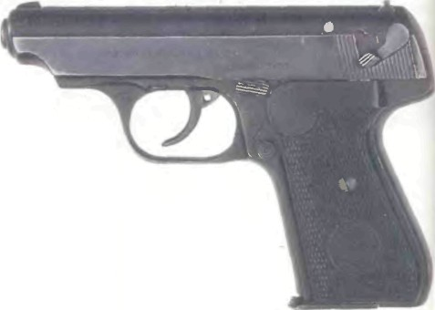 Германия: пистолет ЗАУЭР, М0ДЕЛЬ 38H - фото, описание, характеристики, история