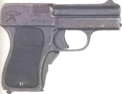 Германия: пистолет ШВАРЦЛОЗЕ, МОДЕЛЬ 1908 - фото, описание, характеристики, история