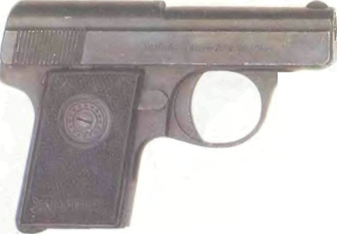 Германия: пистолет ВАЛЬТЕР, МОДЕЛЬ 9 - фото, описание, характеристики, история