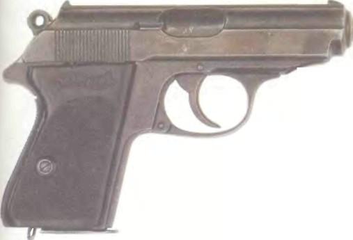 Германия: пистолет ВАЛЬТЕР PPK - фото, описание, характеристики, история